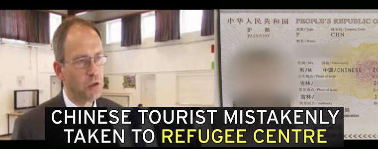 How a Chinese Tourist Ended up in a German Refugee Camp