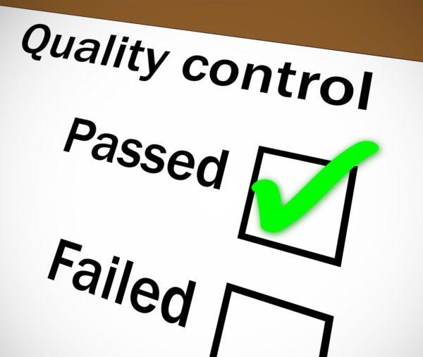 Quality Control versus Quality Assurance
